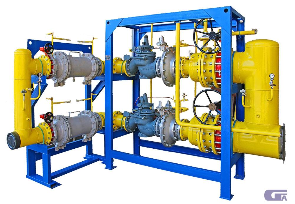Газорегуляторная установка ГРУ